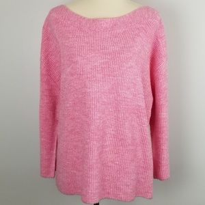 LEITH | Pink Cozy Femme Pullover Sweater